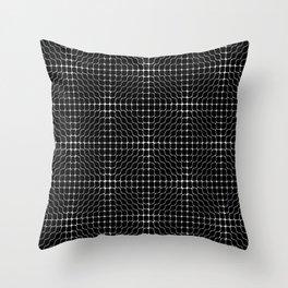 Energy Vibration 3. Frequency - Chladni - Cymatics Throw Pillow