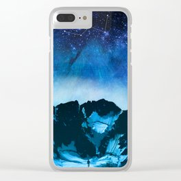 Cassiopeia Night Clear iPhone Case