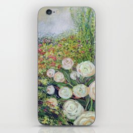 A Garden Romance iPhone Skin