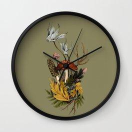 Autumnal Scene Wall Clock