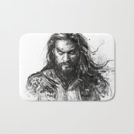 Dark Aquaman Bath Mat