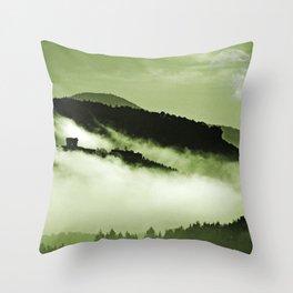 Mystical fog Throw Pillow