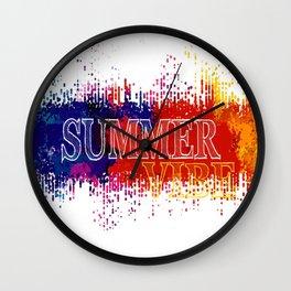 Summer Vibe Wall Clock