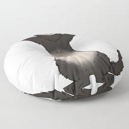 Happy Ferret Floor Pillow