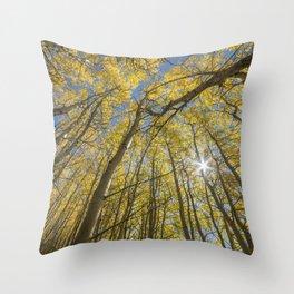 Sparkling Autumn 2 Throw Pillow