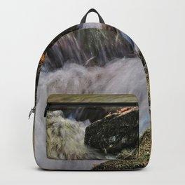 Waterfalls Over Rocks Backpack
