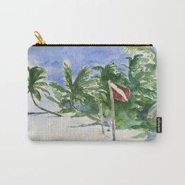 Beach, Tulum, Mexico Carry-All Pouch