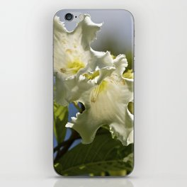 """""""Moonflower"""" by ICA PAVON iPhone Skin"""