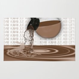 Pouring Coffee Rug