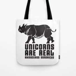 Unicorns Are Real 3 Tote Bag