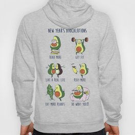New Year's Resolutions with Avocado Hoody