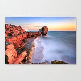 Dreamy sunset Canvas Print