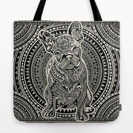 Polynesian  Frenchie Tote Bag
