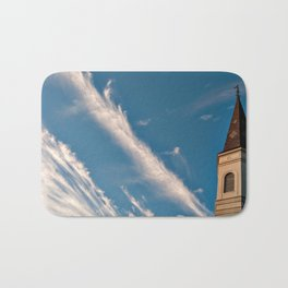 Clouds and Cathedral Bath Mat