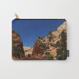 Red Road  Through Zion Park Carry-All Pouch