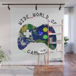 Wide World of Gamers Tees Wall Mural