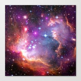Angelic Galaxy Canvas Print