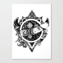 Snakebite Canvas Print