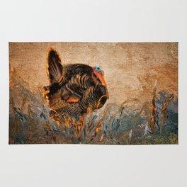 Wild Turkey Rug
