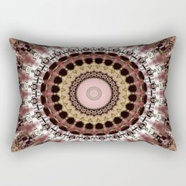 Cool Weather Mandala Rectangular Pillow