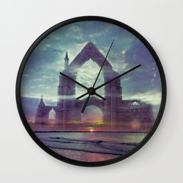 Crystal Visions - America As Vintage Album Art Wall Clock