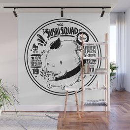 sushi squad Wall Mural