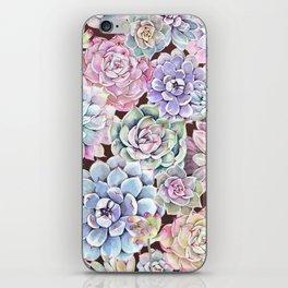 succulent allover iPhone Skin