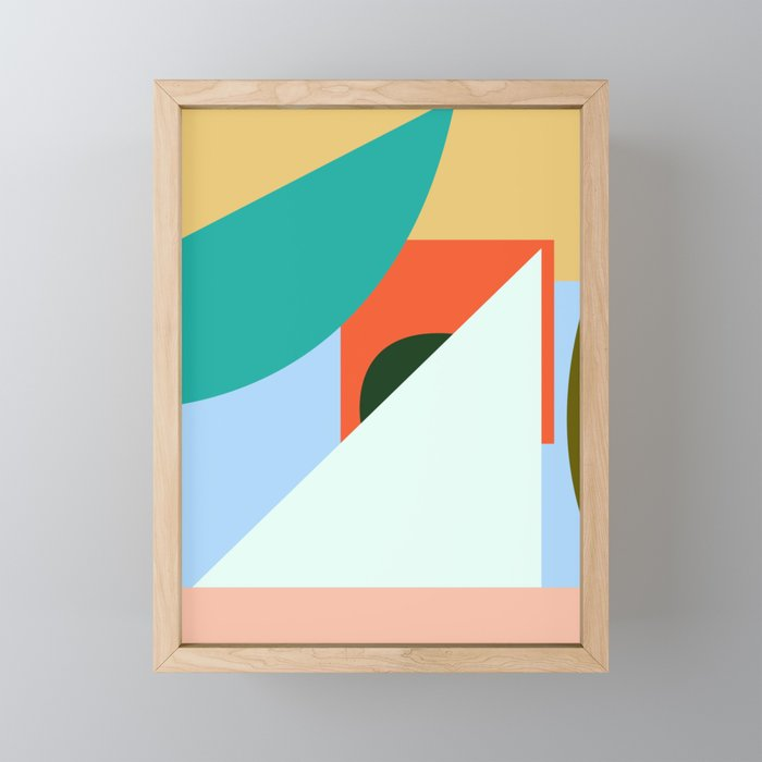 IN AND OUT no.1 Framed Mini Art Print