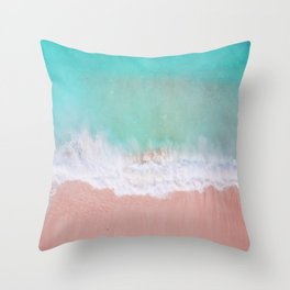 Crystalline Throw Pillow