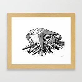 Machine object II Framed Art Print