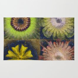 Methylator Structure Flowers  ID:16165-011604-36970 Rug
