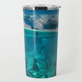 Between the sea and sky by GEN Z Travel Mug