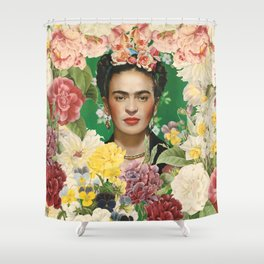 Frida Kahlo IV Shower Curtain