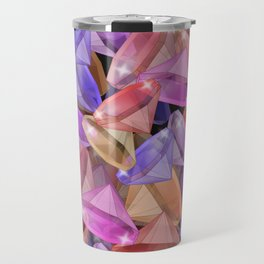 Placer precious stones gems . Travel Mug