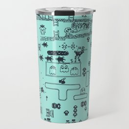 Retro Arcade Mash Up Travel Mug