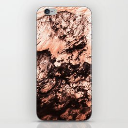 Copper Lava iPhone Skin