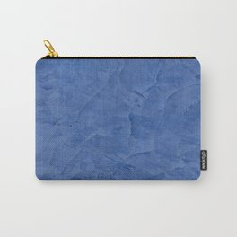 Light Blue Stucco Carry-All Pouch