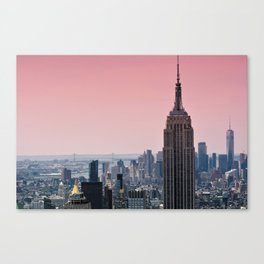 Gotham Blush - NYC Stories Canvas Print