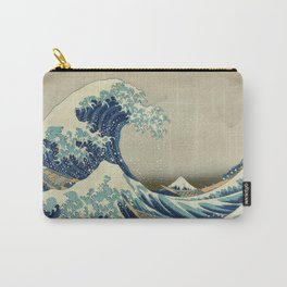 Great Wave Off Kanagawa (Kanagawa oki nami-ura or 神奈川沖浪裏) Carry-All Pouch