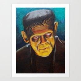 Not Frankenstein Art Print