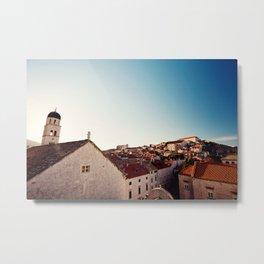 Sunrise in Dubrovnik Metal Print