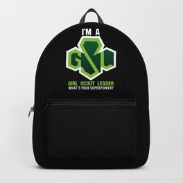 Girl Scout Leader Backpack