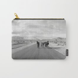 Spring Mountain Wild Horses Carry-All Pouch