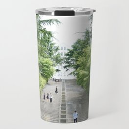 Spring in the City Travel Mug