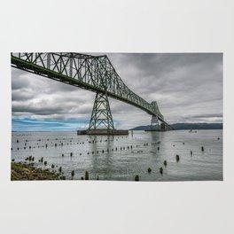 Astoria - Megler Bridge Rug