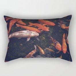 Temple Koi Fish Rectangular Pillow