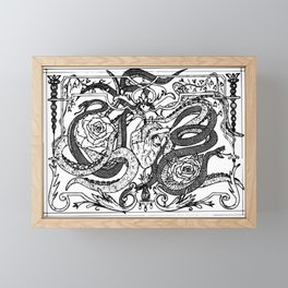 Poisonous Love Framed Mini Art Print