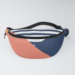 Three colors Fanny Pack