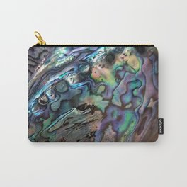2 .paua shell Carry-All Pouch