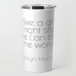 As told by Marilyn #3 Travel Mug